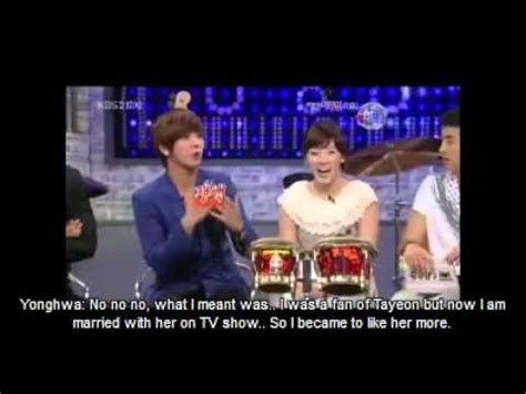 strong heart yonghwa talk about seohyun dating jpg 480x360