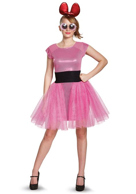 Powerpuff girls bubbles adult womens costume jpg 1750x2500
